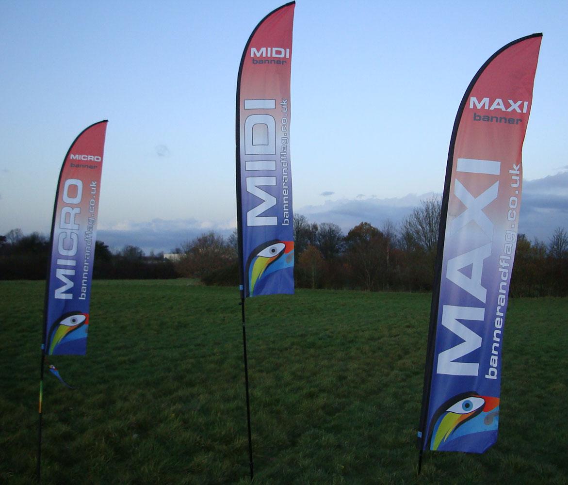 Micro Midi Maxi Banners